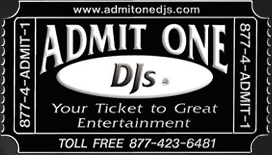 Admit One DJs